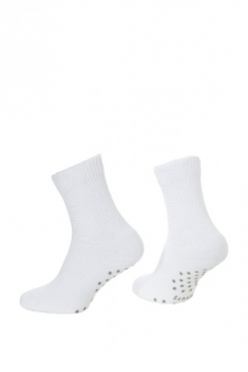 SH01784 - Scholl Comfort Cotton HOME Ladies Quarter_white