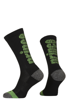 PR01165 - Prince Team CoolMax Men Crew Black Green Socks