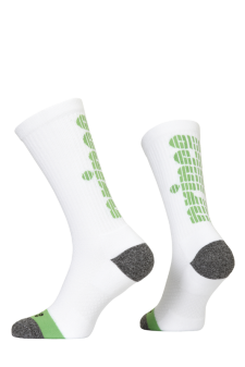 PR01165 - Prince Team CoolMax Men Crew White Green Socks