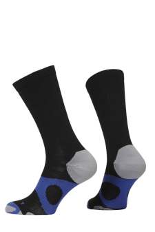 PR00734 - Prince Tour Protect Men Crew Black Blue Socks