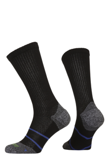 PR00850 - Prince Tour Arikool Men Crew Black Blue Socks